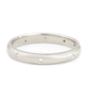 Anne Sportun 14k White Gold Dancing Diamond Band