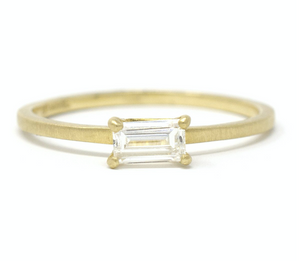 Jennifer Dawes Diamond Baguette Ring - Alchemy Jeweler-Portland Oregon