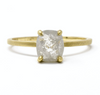 Oregon - Alchemy Jeweler- Jennifer Dawes Stormy Grey Rose Cut Diamond Ring