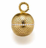 Ray Griffiths Crownwork Ball Diamond Center Pendant
