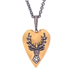 Arman Sarkisyan- Stag-Love Locket-Alchemy Jeweler-Portland,Oregon
