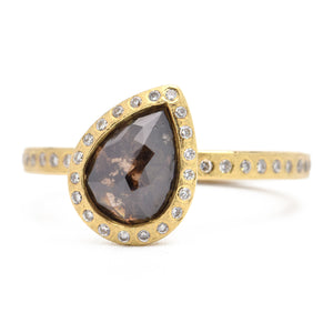 Todd Reed-Fancy Brown Colored Diamond Ring