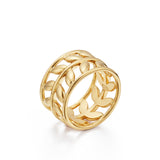 Temple St Clair 18k Gold Vine Ring