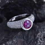 Umba Ruby Ring by Temple St Clair
