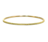 Zaffiro 18k Yellow Gold Classic Bangle-Alchemy Jeweler - Portland Oregon