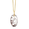 Alex Sepkus Copper Rutilated Quartz Necklace