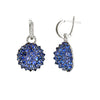 Nam Cho Blue Sapphire Lever Earrings