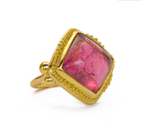 Pink Tourmaline Ring - Zaffiro Jewelry
