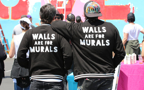 Walls Are For Murals Founder Andy Dubin & Ruben Rojas