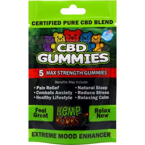 5 Count CBD Gummies