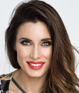 Pilar Rubio color natural brillante en colorimetría