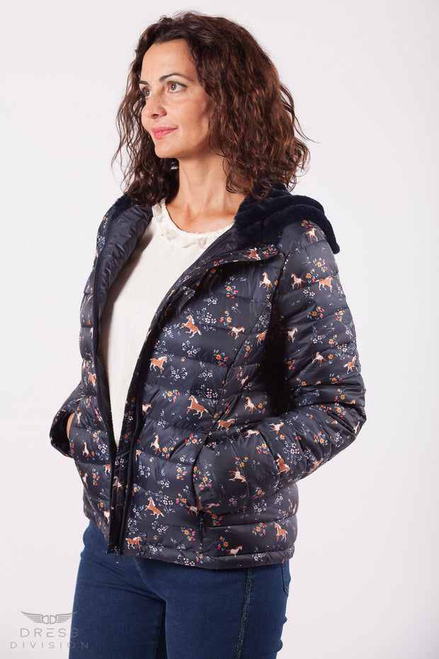Chaqueta ponis Dress Division lateral abierta