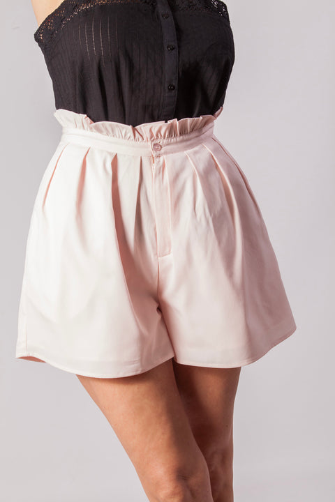 Short de mujer color rosa claro Dress Division frontal