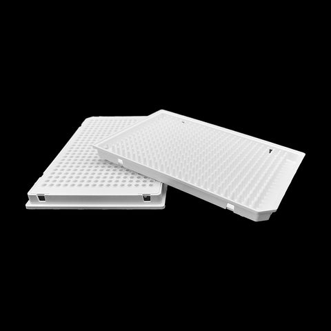 384 well PCR plate, low profile, white, MAP384W
