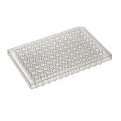 For ABI 96 well PCR detection plate, semi skirted, bar coded MAP150BC