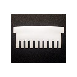 Hoefer 10 lane comb, 1.0 mm thick CHS10-100