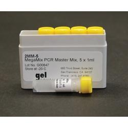MegaMIX, PCR Master Mix, 5 x 1 ml 2MM-05