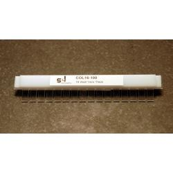 OWL Scientific B2 and B3 comb, 16 well, 1.5mm thick COL16-150