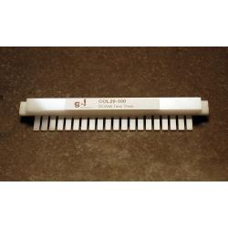 OWL Scientific B2 and B3 comb, 20 well, 1.0mm thick COL20-100
