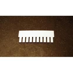 OWL Scientific P8 Comb, 1.5mm thick, 10 tooth P8-1010-10-1.5
