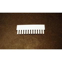 OWL Scientific P8 Comb, 1.5mm thick, 12 tooth P8-1010-12-1.5