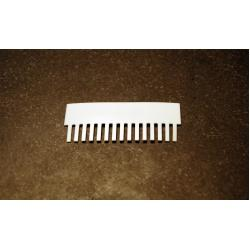 OWL Scientific P8 Comb, 0.8mm thick, 15 tooth P8-1010-15-0.8