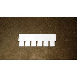 OWL Scientific P8 Comb, 0.8mm thick, 6 tooth P8-1010-6-0.8