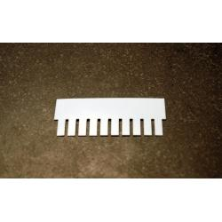 OWL Scientific P8 Comb, 0.8mm thick, 10 tooth P8-1010-10-0.8