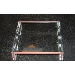 OWL Scientific Gasketed UVT gel tray, 12 cm x 14 cm, 4 comb slots B2-G-RCGT4