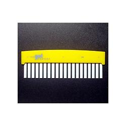 Hoefer 20 lane comb, 0.75 mm thick CHL20-075