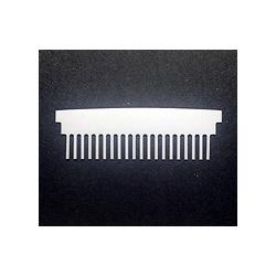 Hoefer 20 lane comb, 0.75 mm thick CHS20-075