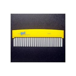 Hoefer 25 lane comb, 1.0 mm thick CHL25-100