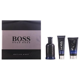 Men's Perfume Set Boss Bottled Night Hugo Boss-boss (3 pcs)
