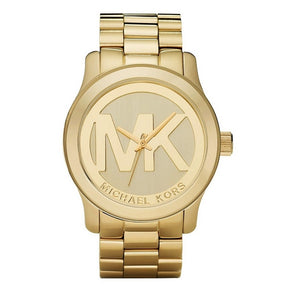 Michael Kors- Runway Ladies Gold Watch 44mm