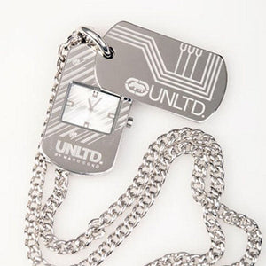 Mark Ecko Necklace-Watch 36cm