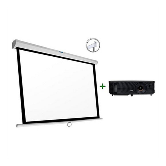 Projector + Screen Optoma DS349+PSIMS180