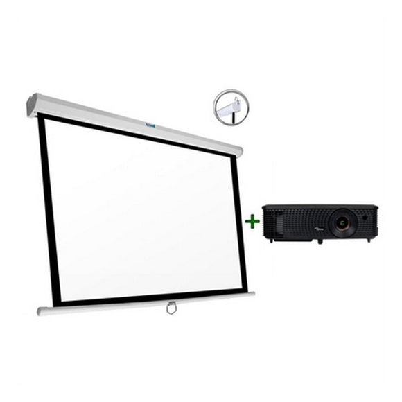 Projector + Screen Optoma S321+PSIMS200