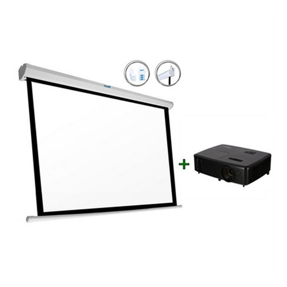 Projector + Screen Optoma DW315+PSIPS234