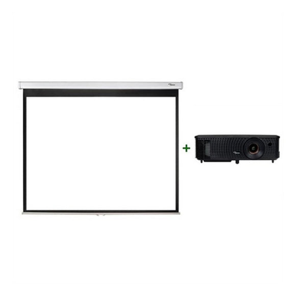 Projector + Screen Optoma DX349+DS-3084