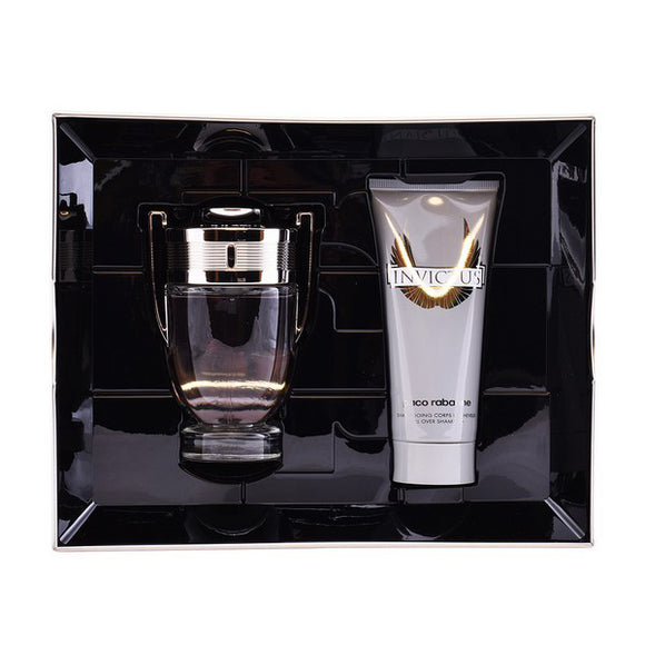 Men's Perfume Set Invictus Paco Rabanne (2 pcs)