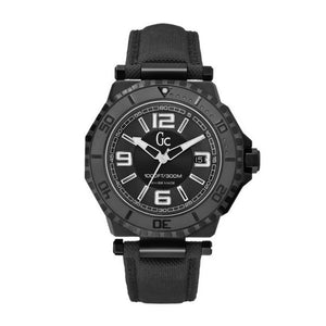 Guess GC-3 Collection Black Dial White Accent Men's Watch 44mm