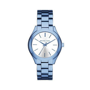 Michael Kors- Slim Runway Cerulean tone Ladies Watch
