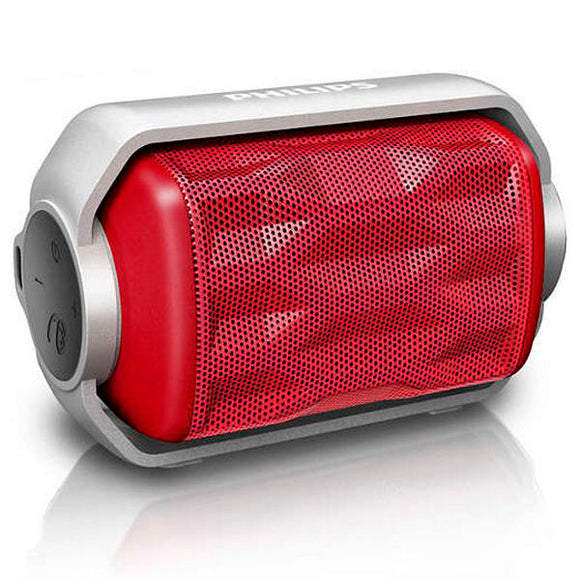 Portable Bluetooth Speaker Philips BT2200R/00 2,8W Red