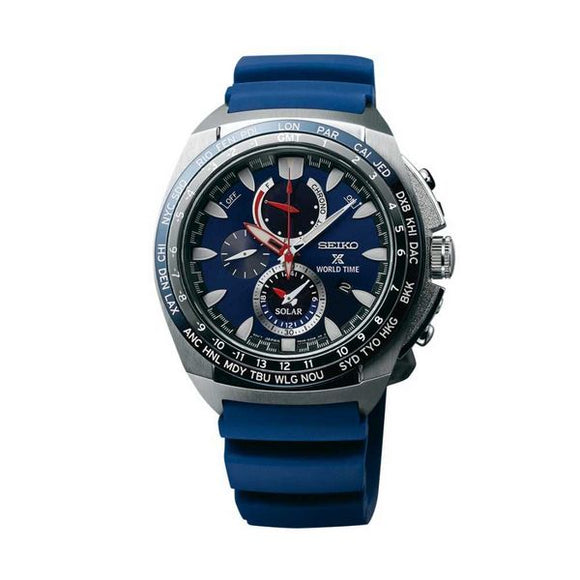 Blue Seiko Men's Watch(44 mm) - Pisis Empire