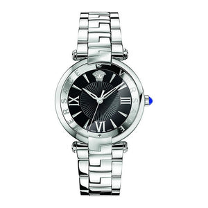 Versace Reve Silver-Tone Quartz Watch 35mm