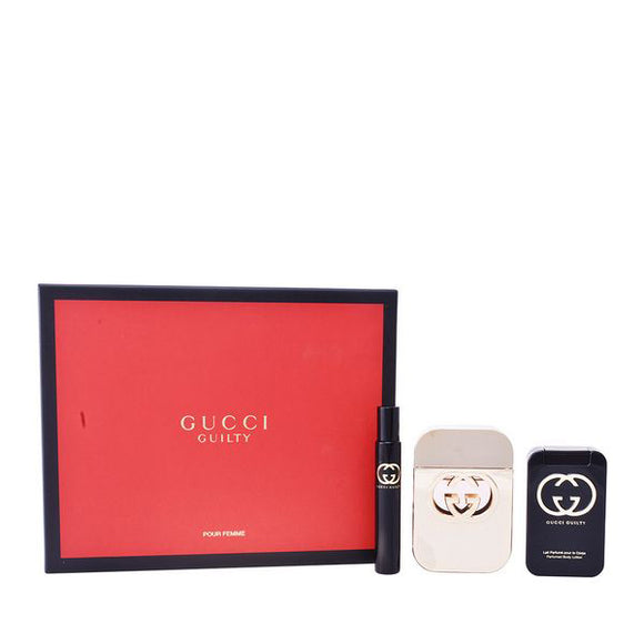 Women's Perfume Set Guilty Gucci (3 pcs)