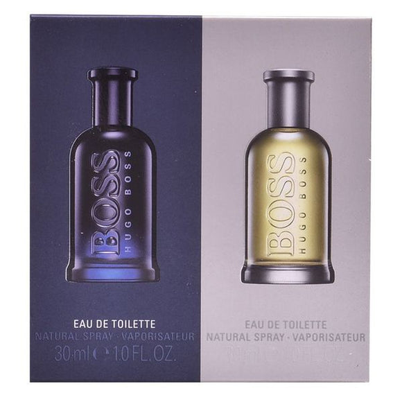 Men's Perfume Set Bottled + Bottled Night Hugo Boss-boss (2 pcs)