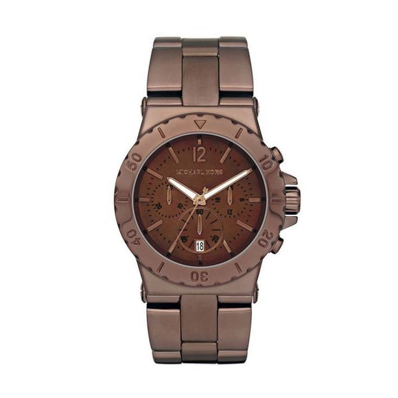 Michael Kors- Chocolate Colour Watch 43mm