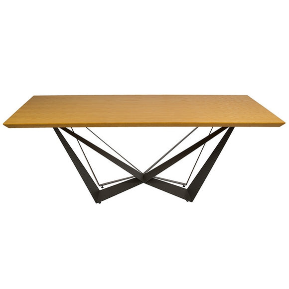 Dining Table Dm (200 x 100 x 76 cm) by Craftenwood