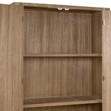 Showcase Teak (2 doors) (100 x 40 x 193 cm) by Craftenwood